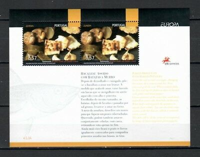 s21780) PORTUGAL 2005 EUROPA CEPT MNH**  S/S Traditional food