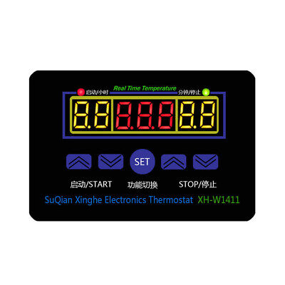12/220V Digital Thermostat Temperature Controller Meter Regulator XH-W1411 Eyefu