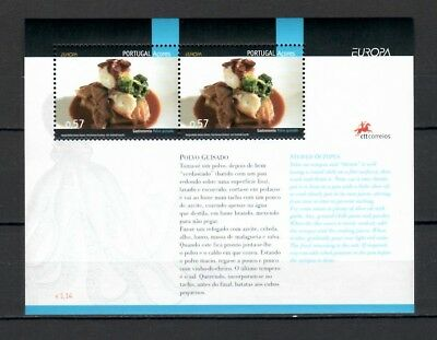s21780) AZORES 2005 EUROPA CEPT MNH**  S/S Traditional food