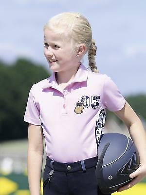 Busse Kids Collection V 2018 Children's Polo Shirt Childrens Design flecki Pink