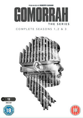 Gomorrah: The Complete Seasons 1, 2 & 3 DVD (2018) Walter Lippa ***NEW***