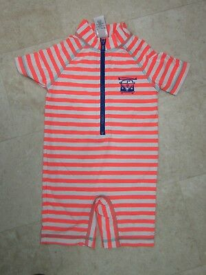 Next Baby Boys Swimsuit Sun  UPF50+  18-24 Months Stripe