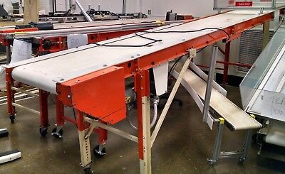 14' *EMI* RM-18-14-20 Portable Belt Conveyor