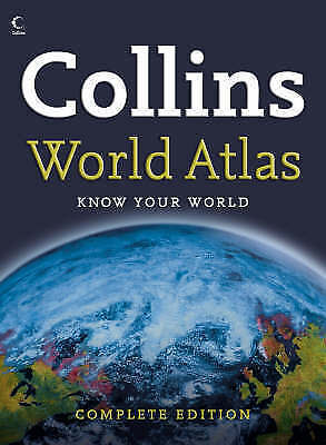 Collins Complete World Atlas-ExLibrary