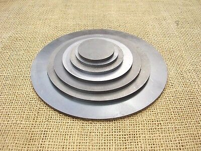 Mild Steel Discs Circles - CLEARANCE - Laser Cut