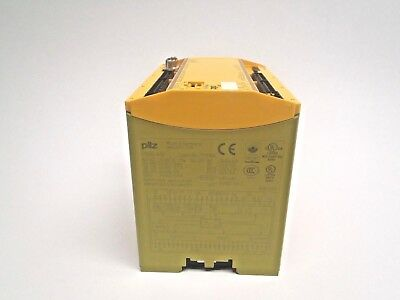 Pilz PNOZ m1p Safety Relay Base Unit 773100 24VDC 8..28W AC: 240V/6A No Terminal