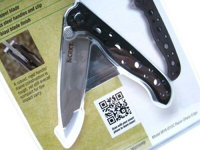 Columbia River CRKT Stainless M16-01S Straight Spear Point Folding Pocket Knife