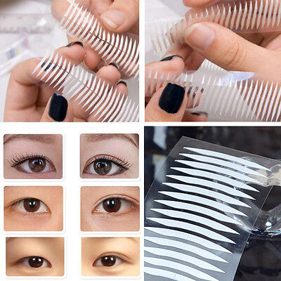 Fashion White Thin Invisible Double-sided Clear Eyelid Sticker Adhesive Tape,
