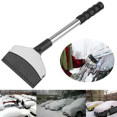 Stainless Steel Auto Vehicle Snow Ice Shovel Scraper Removal Clean Tool Kit~