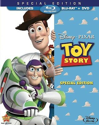 Toy Story | Special Edition (Blu-ray+DVD, 2010) Includes Slipcover - Region Free