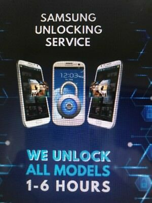 Unlock Code For Samsung All Models, Any Network U.K. Network FAST SERVICE.
