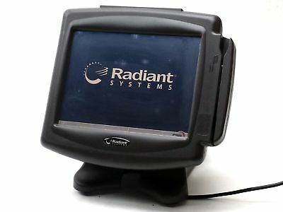 "Radiant P1220 12"" Touchscreen Pos Msr 1Gb Ram Point Of Sale Terminal System"