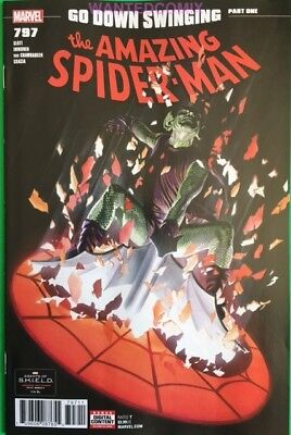 Amazing Spider-Man #797 Red Hot Sold Out Issue March 2018 New Osborn Goblin 1 Nm