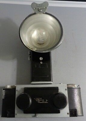 35mm STEREO REALIST CAMERA DAVID WHITE LENS WITH BC FLASH ATTACHMENT
