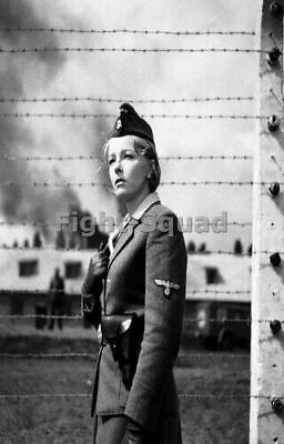 WW2 Picture Photo Irma Grese SS guard of Ravensbrück and Auschwitz 2521