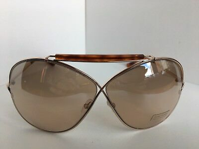 ab756b34ffec1 New Tom Ford Catherine TF 200 TF200 28G 67mm Women s Sunglasses Italy