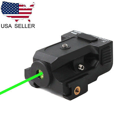 US Rechargeable Micro Green Dot Laser Sight Subcompact for Pistol Rifle Scope
