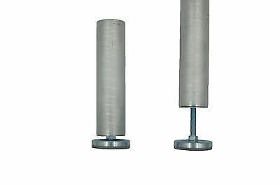 Set of 4 Quik Stage Fixed Height Portable Stage Legs w/Adj Feet. Multiple Height