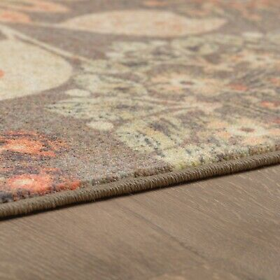 Mohawk Floral Dream 8' X 10' Large Area Rug In Spice