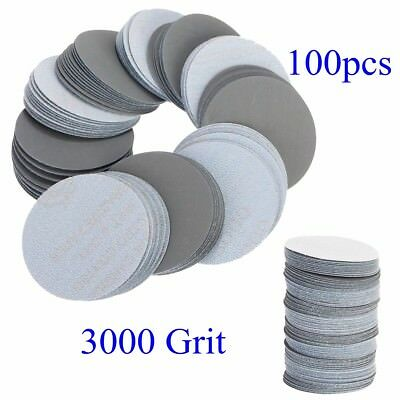 100pcs 3inch 75mm 3000 Grit Sander Discs Sanding Polishing Pads Sandpaper Set