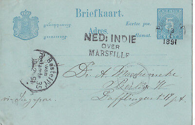 PK Ned.Indie / over Marseille , 1891