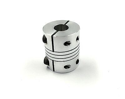 1 of  DR6.35mm x 12mm CNC Stepper Motor Flexible Coupling Coupler D25L30 [M_M_S]