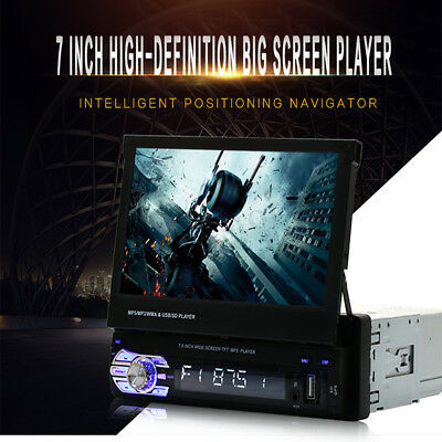 9601G 7'' HD Touch Screen Bluetooth Single GPS Navi Radio Stereo MP3 MP5 Player
