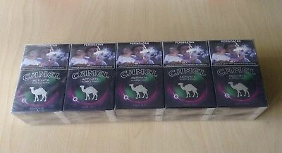 10 Packs 1 Box Camel Purple Mint Indonesia Filter New Sealed 200 Cigs Total