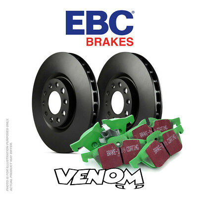 EBC Rear Brake Kit Discs & Pads for Audi A4 Convertible Quattro 8H 3.0 TD 05-09
