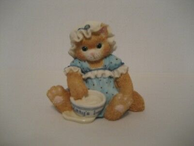 "Calico Kittens-Finicky-""An Unexpected Treat"" 1994- Figurine"