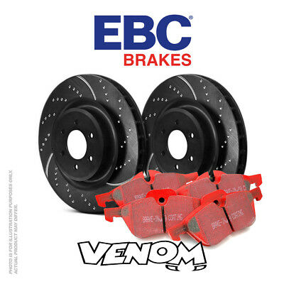 EBC Front Brake Kit Discs & Pads for BMW 530 5 Series 3.0 TD (E61) 2003-2010