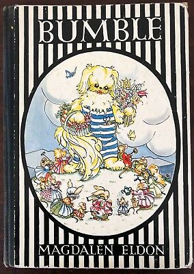 Bumble the Pekingese Story Book 1950 1st Edition by Magdalen Eldon Collins