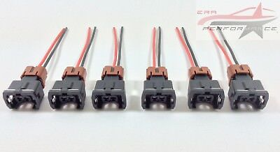 6 x Fuel Injector Connector Plugs – For Nissan Skyline R33 GTR RB26DETT Top Feed