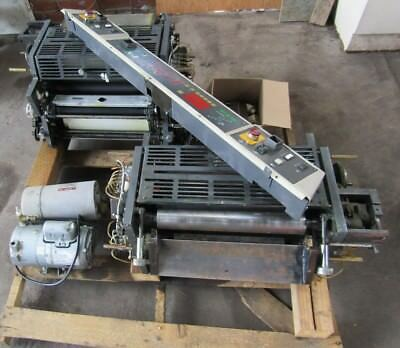 RYOBI 3302M Printing Heads - Printing press parts, Rollers control Panel, Kompac