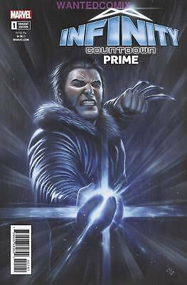 Infinity Countdown Prime #1 Logan Holds Infinity Variant Cover Granov Marvel New