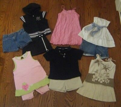 Lot of Girls Clothes 12 Pieces Size 7-10 Burberry,A&F,Gymboree,So Fun,Limited 2