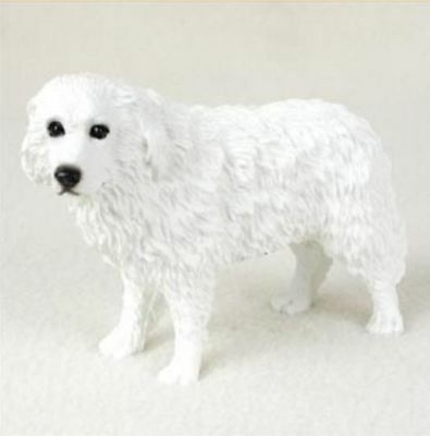 GREAT PYRENEES DOG Figurine Statue Hand Painted Resin Pet Lovers gift