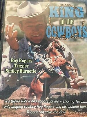 King of the Cowboys (DVD, 2003) Roy Rogers, Trigger, Smiley Burnette