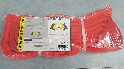 NEW Lift Safe 5t SWL 3 Meter Round Lifting Sling With Test Certificate
