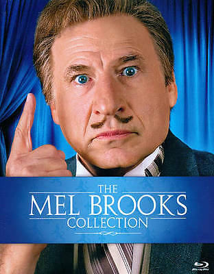 The Mel Brooks Collection (Blu-ray Disc, 2012, 9-Disc Set) New - Sealed