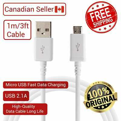 Micro USB Fast Charger Data Charging Cord Cable For Samsung S6,S7 Edge ,LG,Nexus