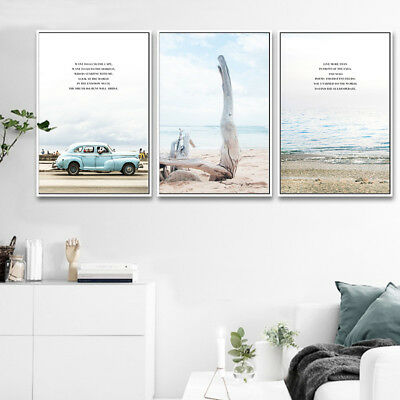A1 Quotes Slogan Travel Canvas Wall Poster Art Print 60x90cm 180gsm Gift #15577