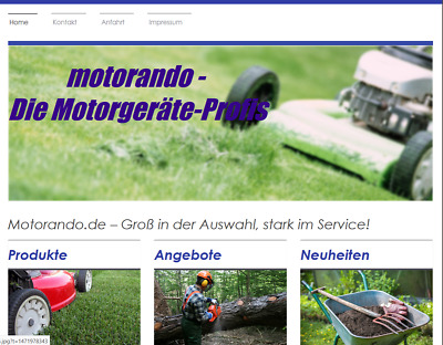 ++ www.motorando.de ++  Top-Level Domain für Ihren Online-Shop