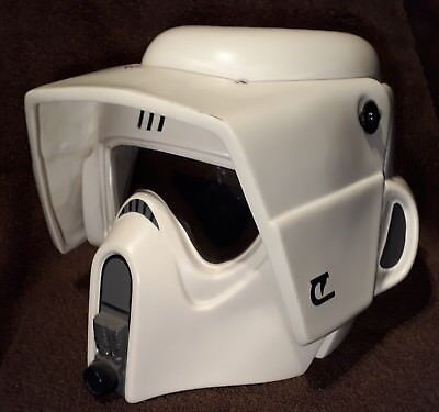 Star Wars Helm Rubies Biker Scout Trooper / Stormtrooper