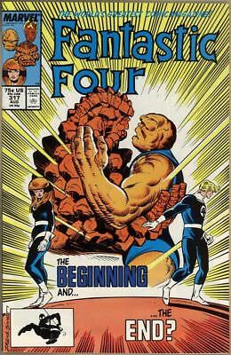Marvel  Fantastic Four #317