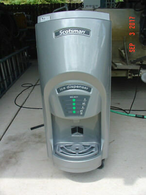 Scotsman MDT2C12A-1A Countertop Touch Free Cube Ice Machine & Water Dispenser