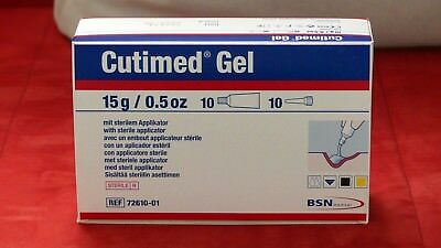 Cutimed Gel mit sterilen Applikator 10 x 15 g BSN Medical