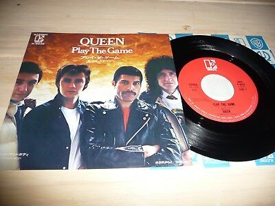 "7"" Queen   Play the Game   (Japan / Elektra)"
