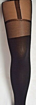 New  Fantasy Sexy Ladies Girls lovely Sheer Sock Pattern black   T23