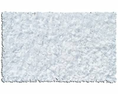 The Rug Market Shaggy Raggy White Area Rug Size 2.8'x4.8'